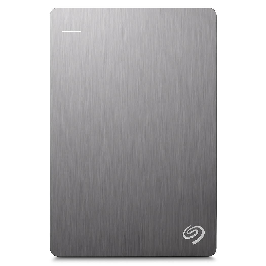 Seagate Backup Plus Slim 1TB 2.5吋可攜式行動硬碟(銀)