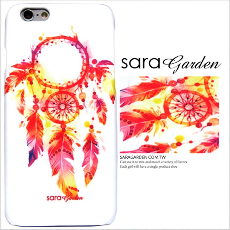 【Sara Garden】客製化 手機殼 蘋果 iPhone 5 5S SE i5 i5s 渲染 捕夢網 羽毛 保護殼 硬殼 限定