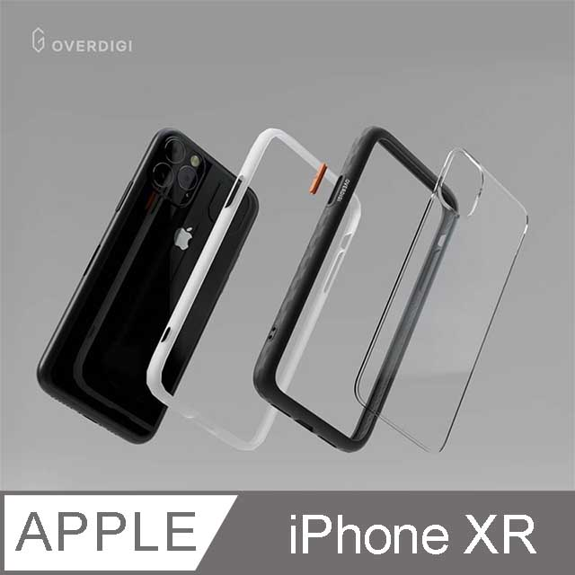 OVERDIGI OC Diamond iPhone XR 鑽石框抗污防摔邊框殻 珊瑚粉