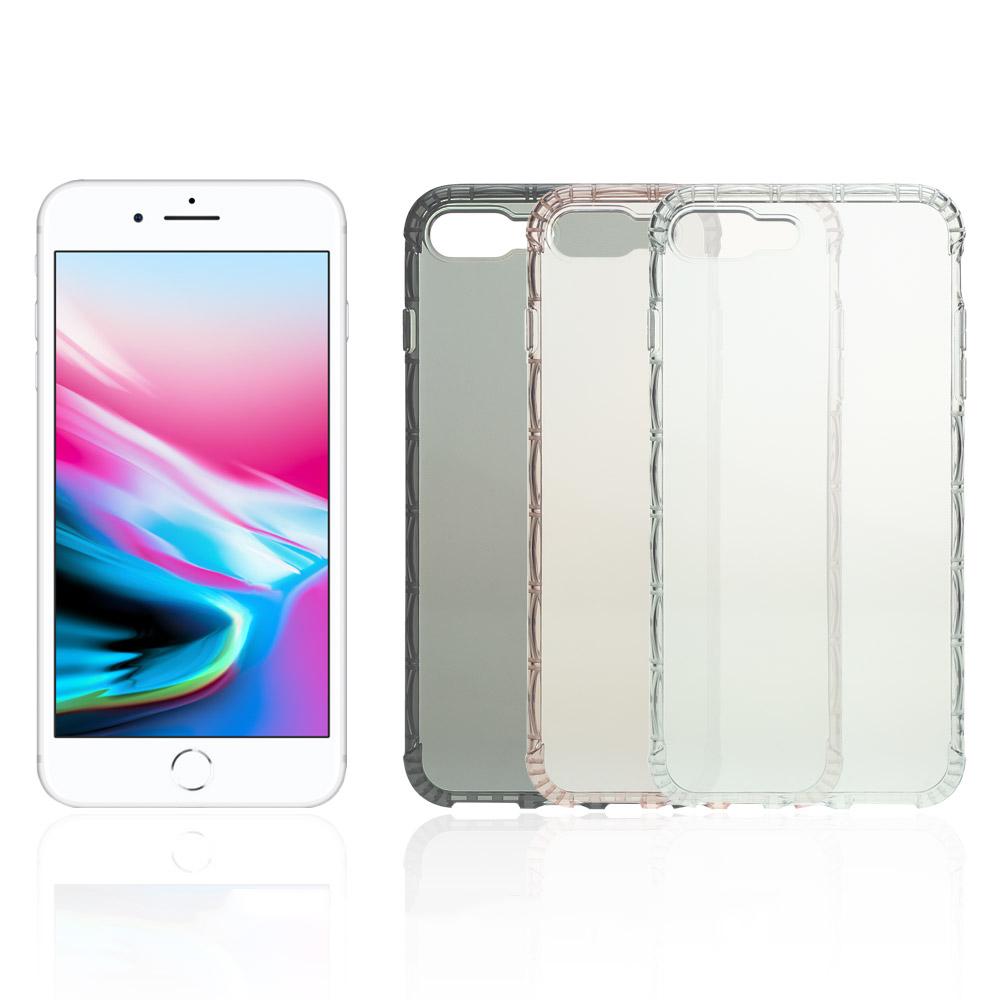 X 世代 Apple iPhone 8/7 Plus 軍規防摔殼(玫瑰金)