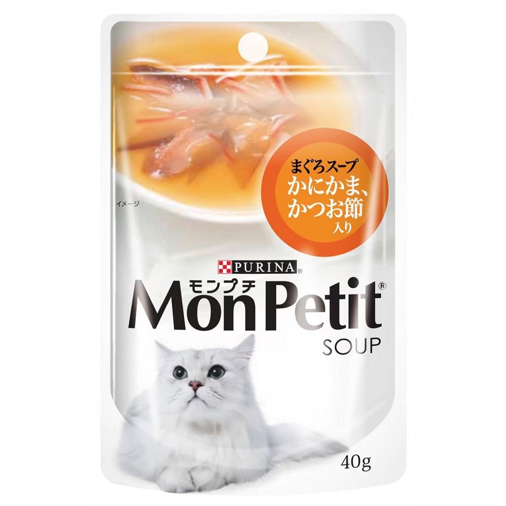 MonPetit貓倍麗湯包 40g 12入 鰹魚極品上湯