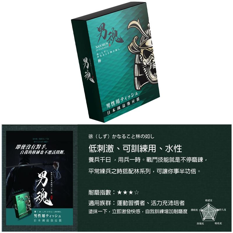 男魂【林】男用活力 持久 延時 保養紙巾 5片裝【送套套尺】SL檢驗認證