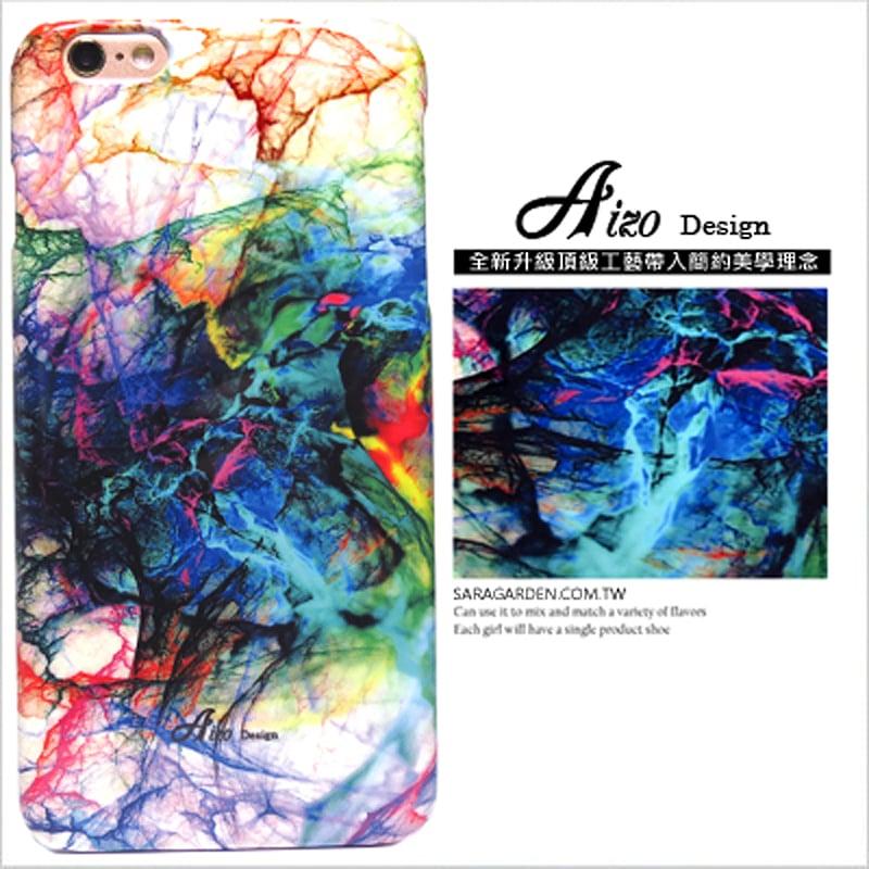 【AIZO】客製化 手機殼 ASUS 華碩 Zenfone2 laser 5吋 ZE500KL 撞色 Color 彩虹 潑墨 保護殼 硬殼