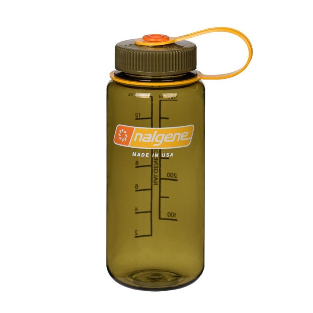 Nalgene 寬嘴水壼(500cc)-橄欖色