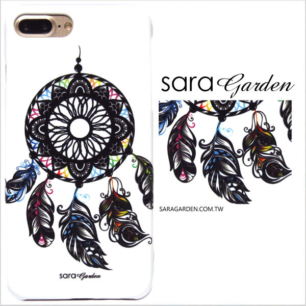 【Sara Garden】客製化 手機殼 SONY XZ2 保護殼 硬殼 手繪流蘇捕夢網