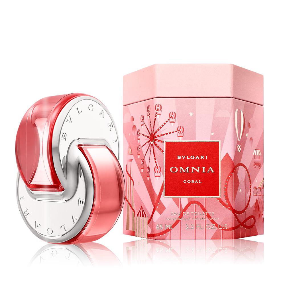 BVLGARI 寶格麗 晶豔2020限量版淡香水 Omnia Coral(65ml) EDT-公司貨