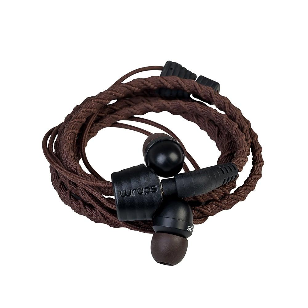 【Wraps】Classic Wristband Headphone 經典編織款手環耳機- 咖啡