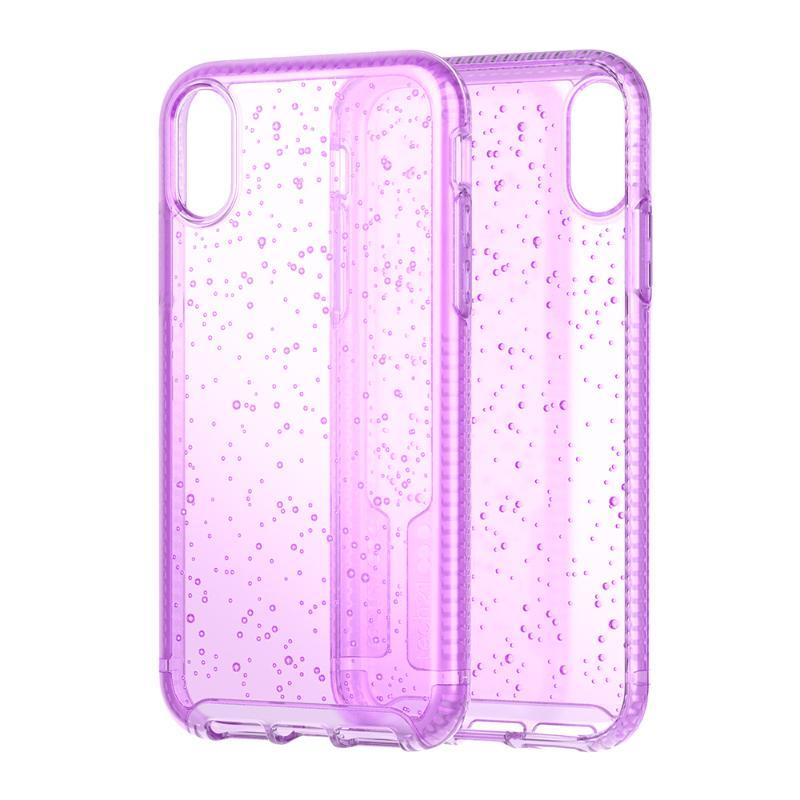 Tech 21抗衝擊PURE SODA防撞硬式保護殼 iPhoneXs Max 透紫