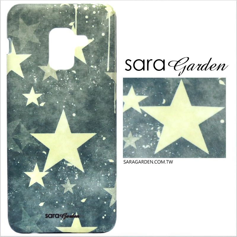 【Sara Garden】客製化 手機殼 Samsung 三星 J7Plus j7+ 潮流星星 保護殼 硬殼