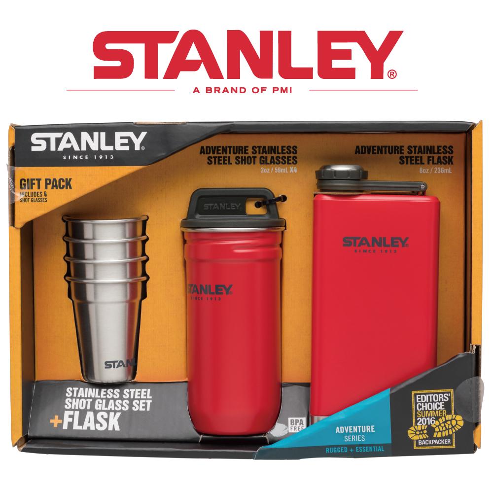 【美國Stanley】冒險系列酒壼組236ml-聖誕紅