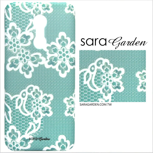 【Sara Garden】客製化 手機殼 HUAWEI 華為 P30 保護殼 硬殼 蕾絲碎花