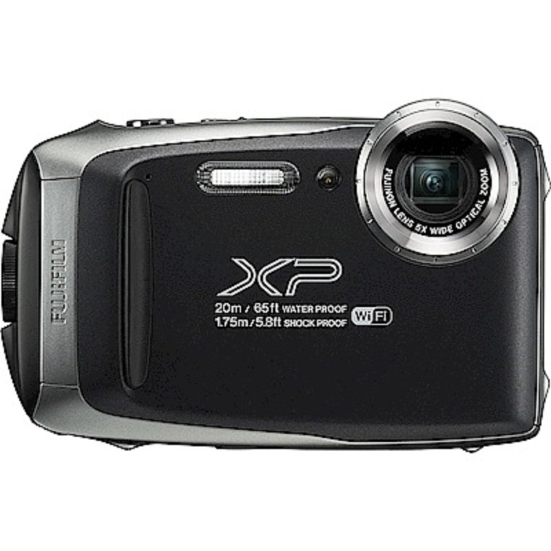 FUJIFILM XP140防水潛水相機 -黑色 恆昶公司貨 送64G高速卡+專用電池+專用座充+自拍棒+清潔組+保護貼+讀卡機+原廠相機包