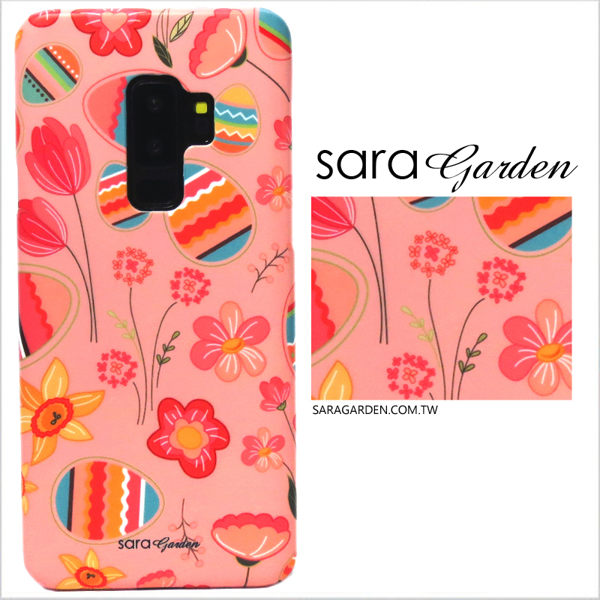 【Sara Garden】客製化 手機殼 華為 P9Plus P9+ 保護殼 硬殼 粉嫩彩蛋碎花