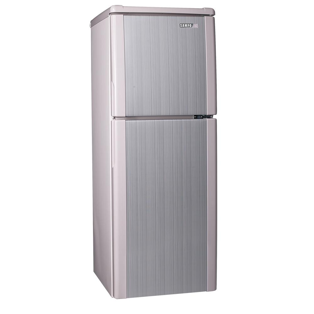 SAMPO聲寶140L經典品味雙門冰箱SR-A14Q(R8) 粉彩紅