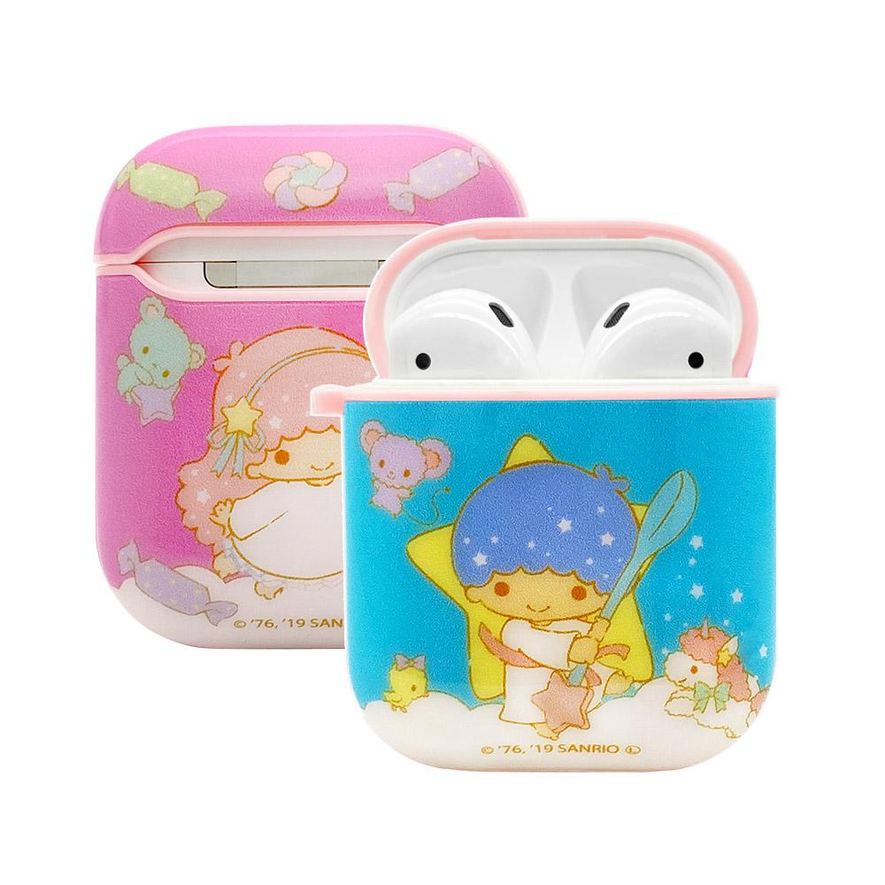 【正版授權】Sanrio三麗鷗 AirPods 矽膠保護套-悠閒雙子星