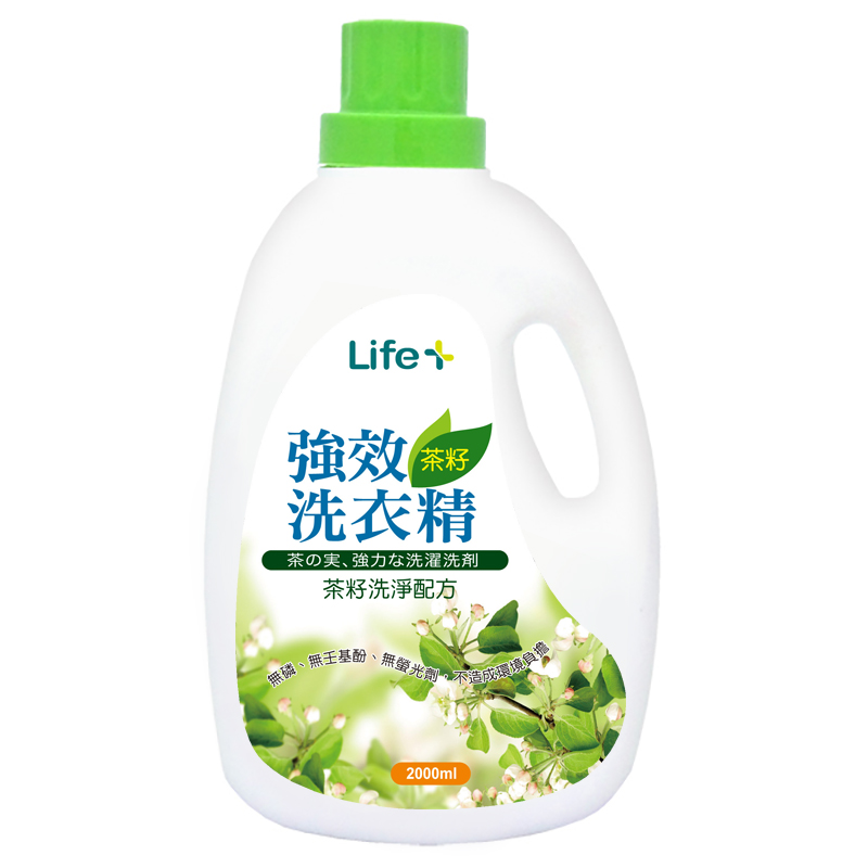 Life茶籽洗衣精2000ml【躍獅連鎖藥局】