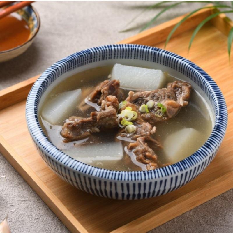 《對麥面 》水盆羊肉湯(3入/盒)