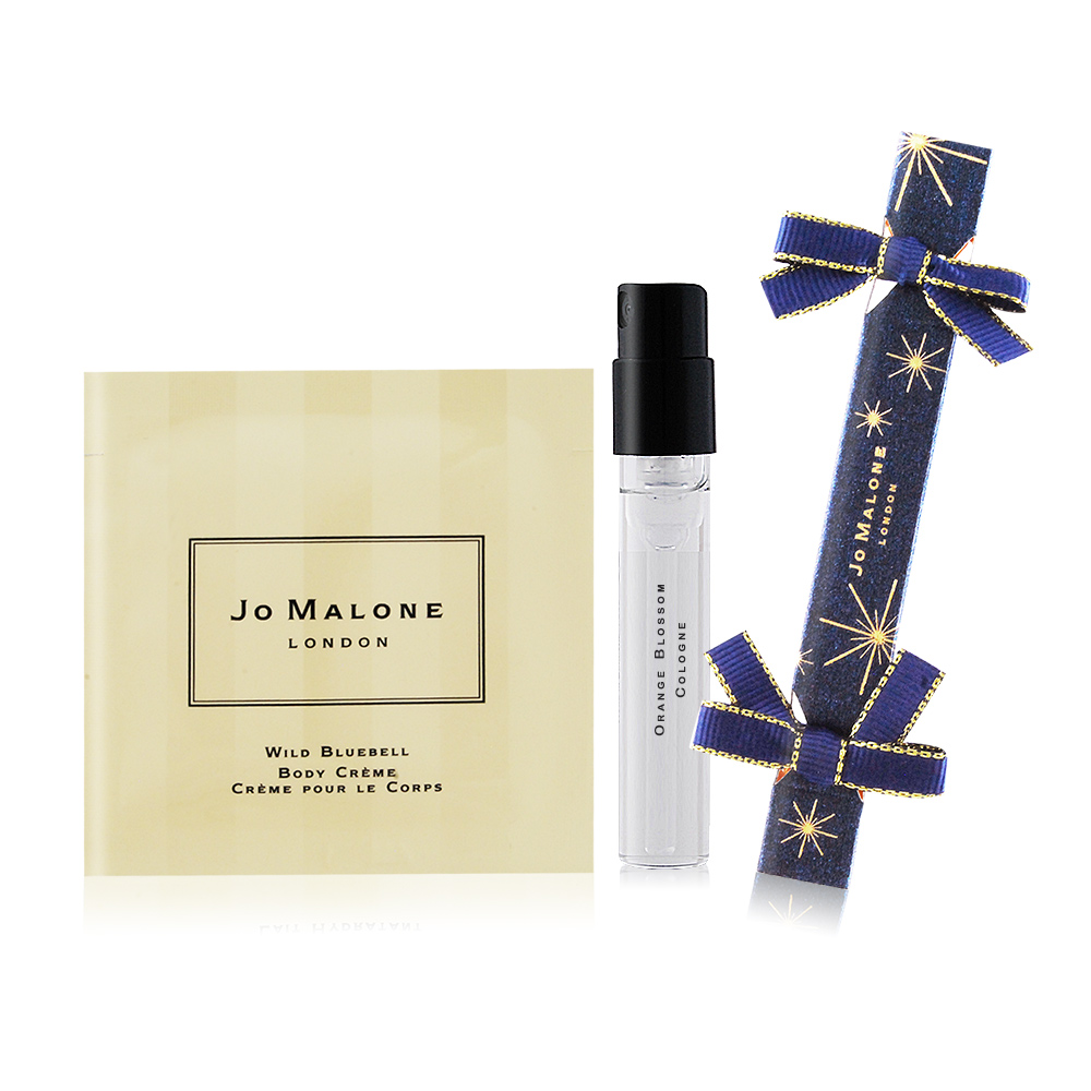 Jo Malone 經典迷小拉炮禮盒(藍風鈴針管香水+潤膚霜)