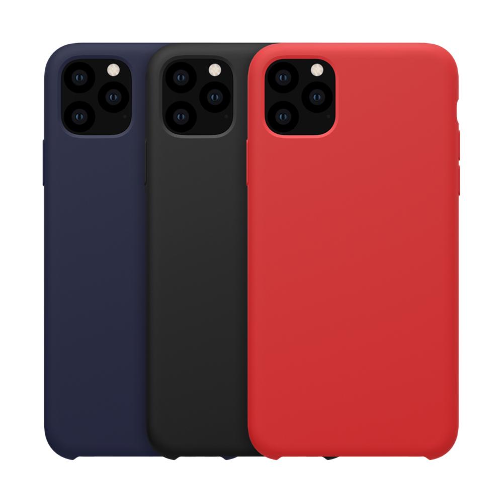 NILLKIN Apple iPhone 11 Pro 5.8 感系列液態矽膠殼(紅色)