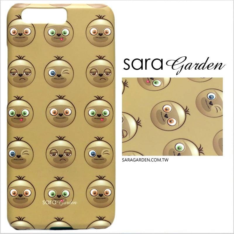 【Sara Garden】客製化 手機殼 華為 P10 樹懶表情包 手工 保護殼 硬殼