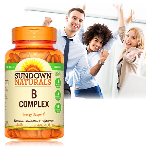 Sundown日落恩賜 每日綜合B群錠(100錠/瓶)