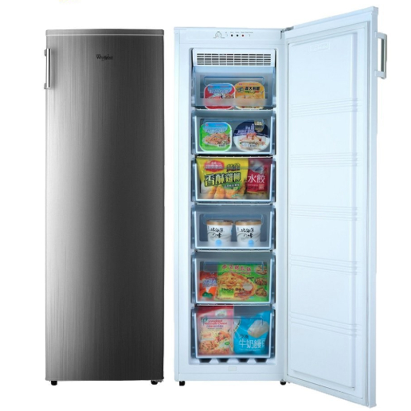 【Whirlpool 惠而浦】193公升直立式冷凍櫃 WIF1193G
