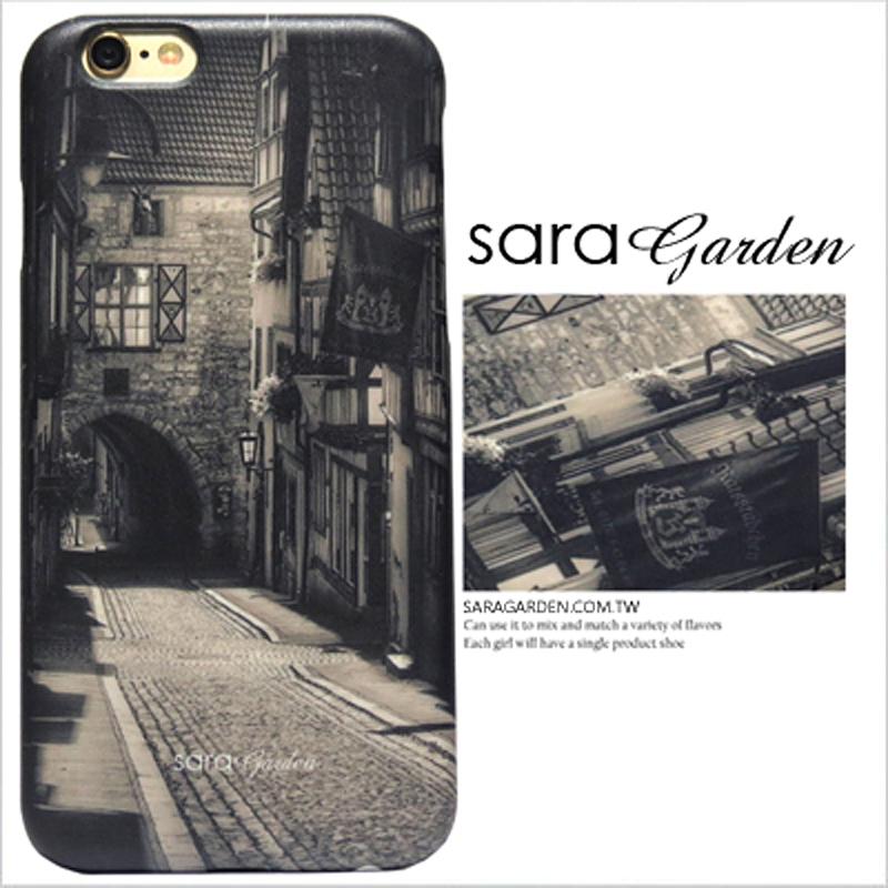 【Sara Garden】客製化 手機殼 SONY XA2 Ultra 復古 歐美 80年代 街景 保護殼 硬殼