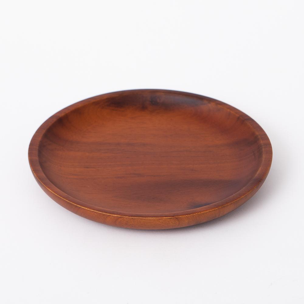木質宣言洋槐餐盤25cm-生活工場