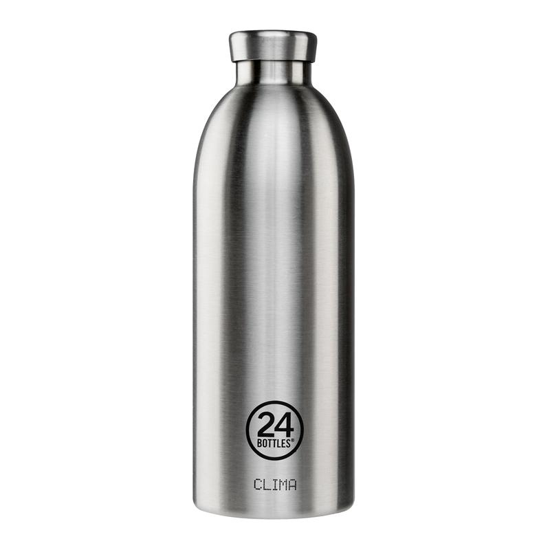 義大利 24Bottles 不鏽鋼雙層保溫瓶 850ml - 不鏽鋼