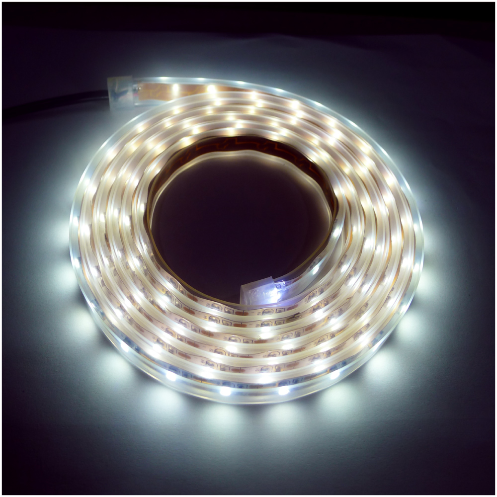 【OutdoorBase】帳篷LED燈條防水燈條2M-23212白光