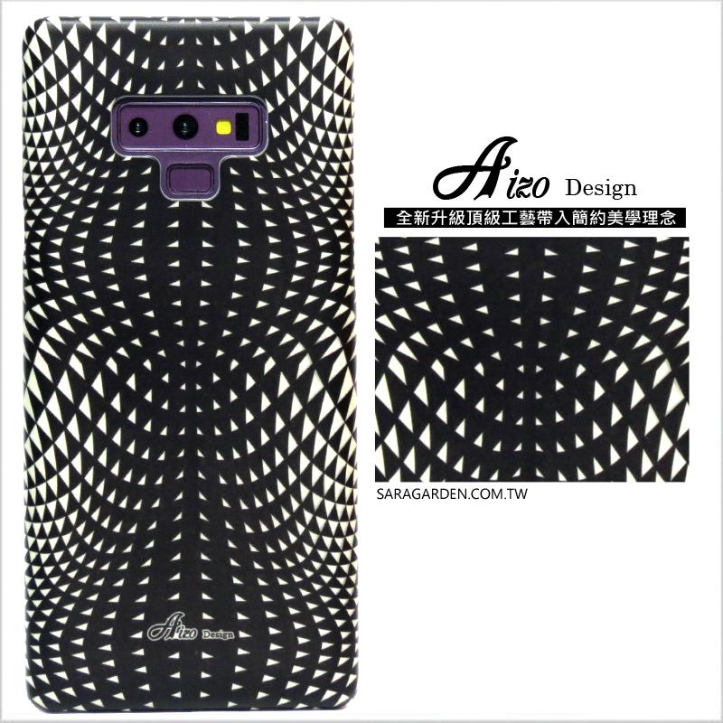 【AIZO】客製化 手機殼 Samsung 三星 Note10 迷幻線條 保護殼 硬殼