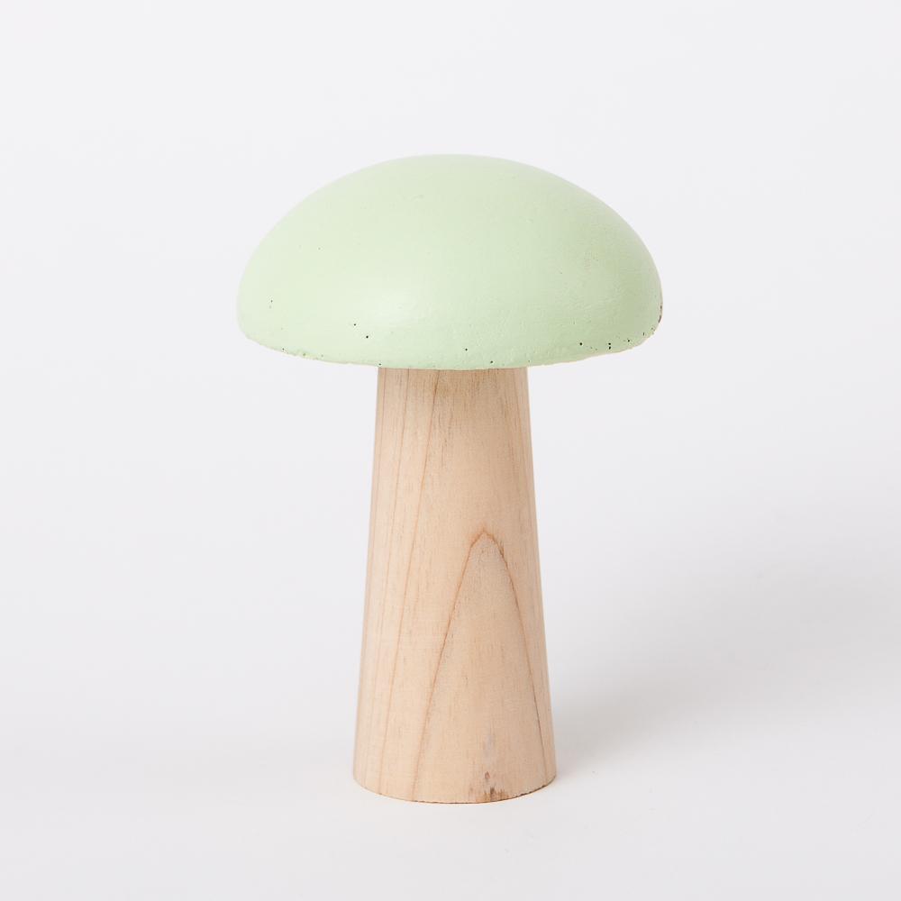 蘑菇森林擺飾-綠(小)-生活工場