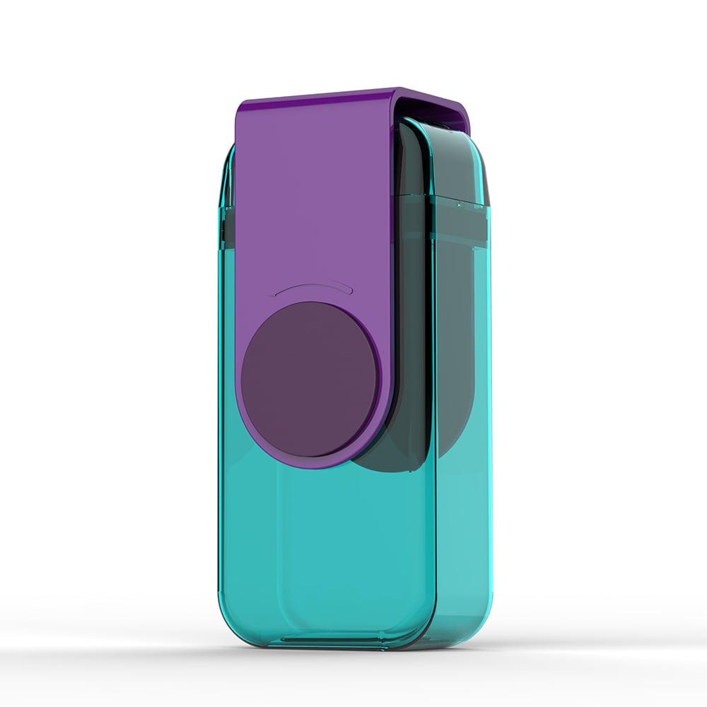 Asobu Juicy Box兒童果汁吸管杯-紫