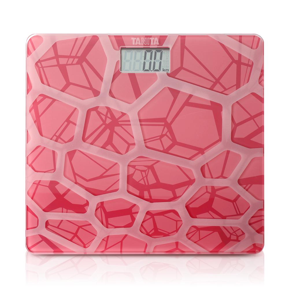 【日本TANITA 】時尚超薄電子體重計HD-380 -粉紅