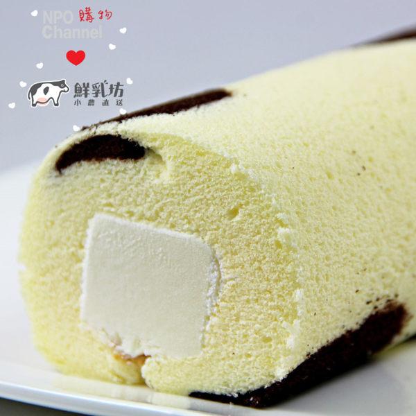 《NPOx鮮乳坊》鮮奶奶凍捲(420g/條,共兩條)