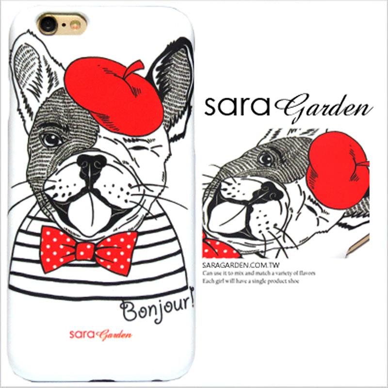 【Sara Garden】客製化 手機殼 ASUS 華碩 Zenfone3 5.2吋 ZE520KL 法國 文青 鬥牛犬 硬殼 限定