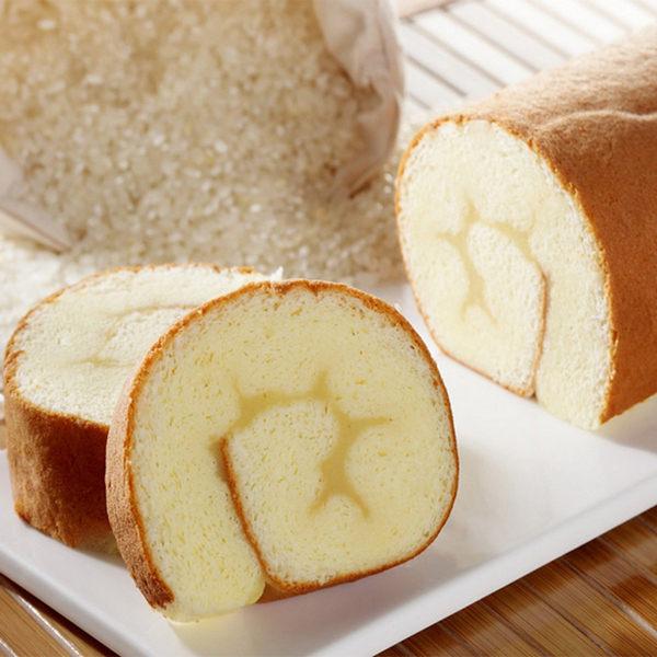 《樂米工坊》瑞士捲米蛋糕 原味(462g/條,共兩條)