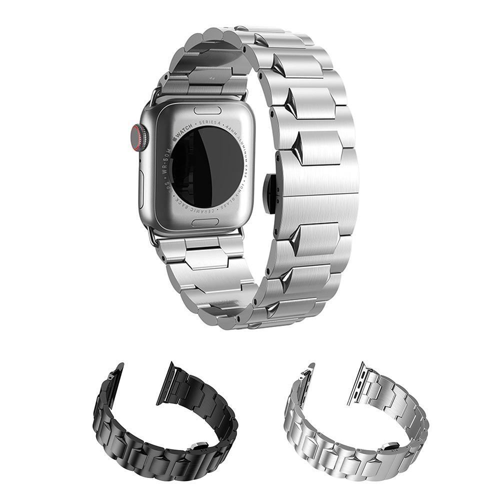 hoco Apple Watch (42/44mm) 格朗鋼錶帶-銀色款