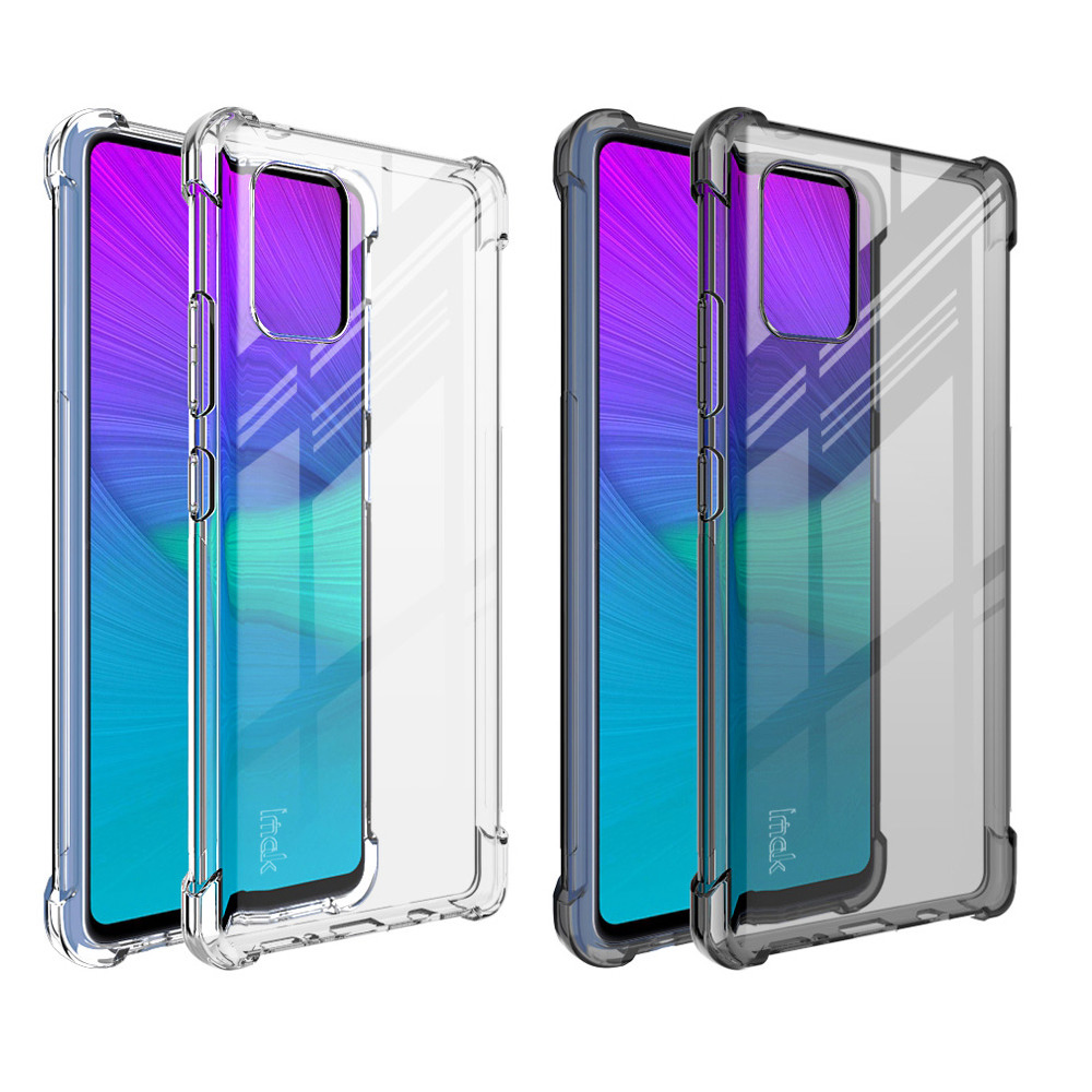 Imak SAMSUNG Galaxy A71 5G 全包防摔套(氣囊)(透明)