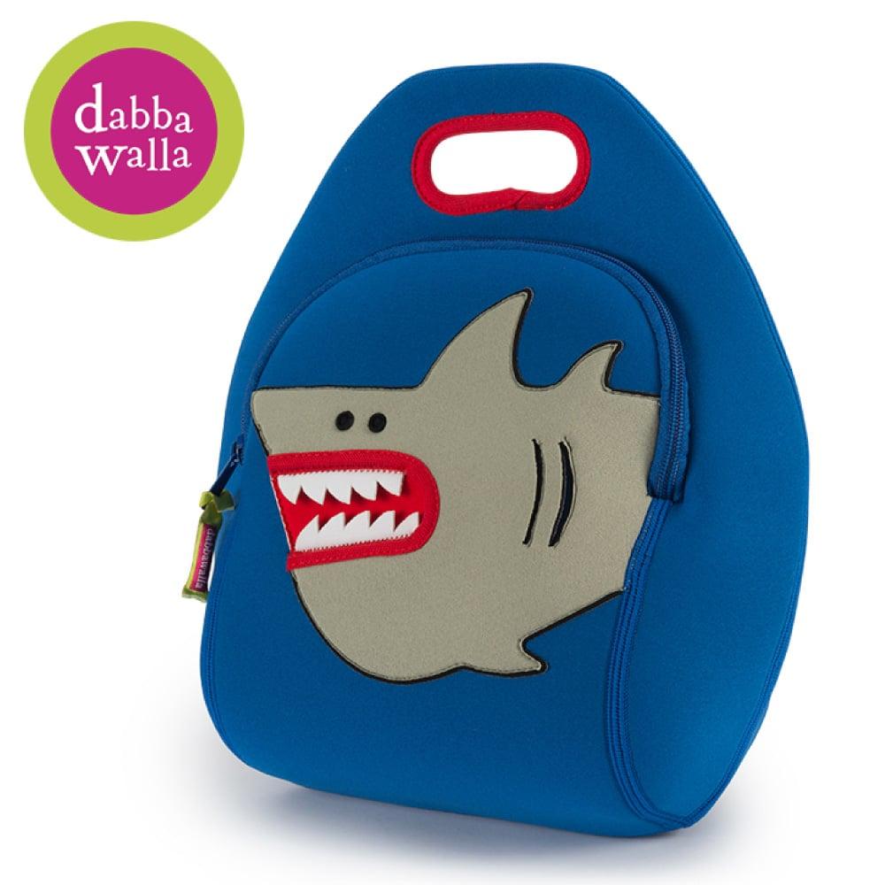 美國Dabbawalla瓦拉包 -小白鯊兒童手提包
