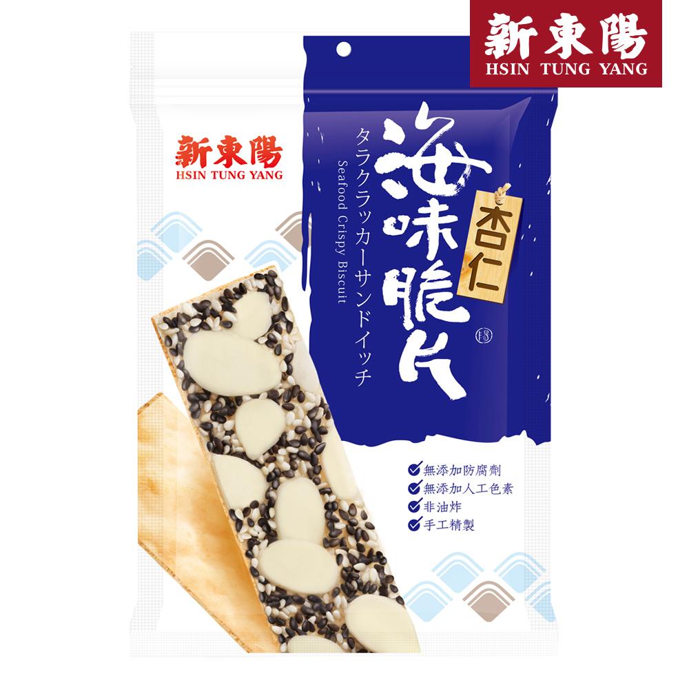 【新東陽】海味脆片-杏仁(50g*6包),免運