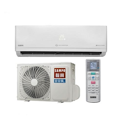 ★含標準安裝★【SAMPO聲寶】變頻分離式冷氣10坪AU-PC63D1/AM-PC63D1