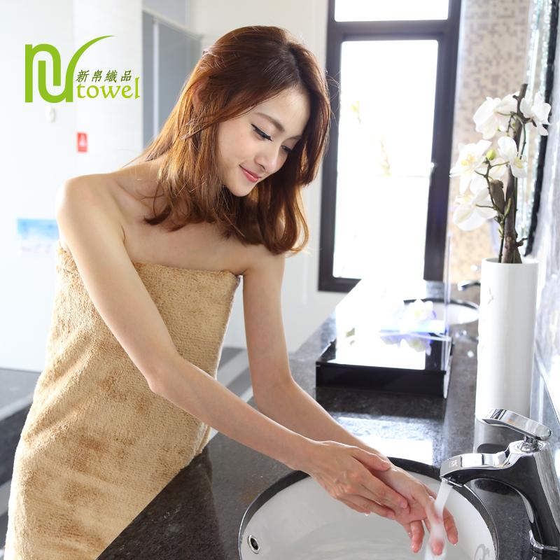 新帛織品-浴巾/米白