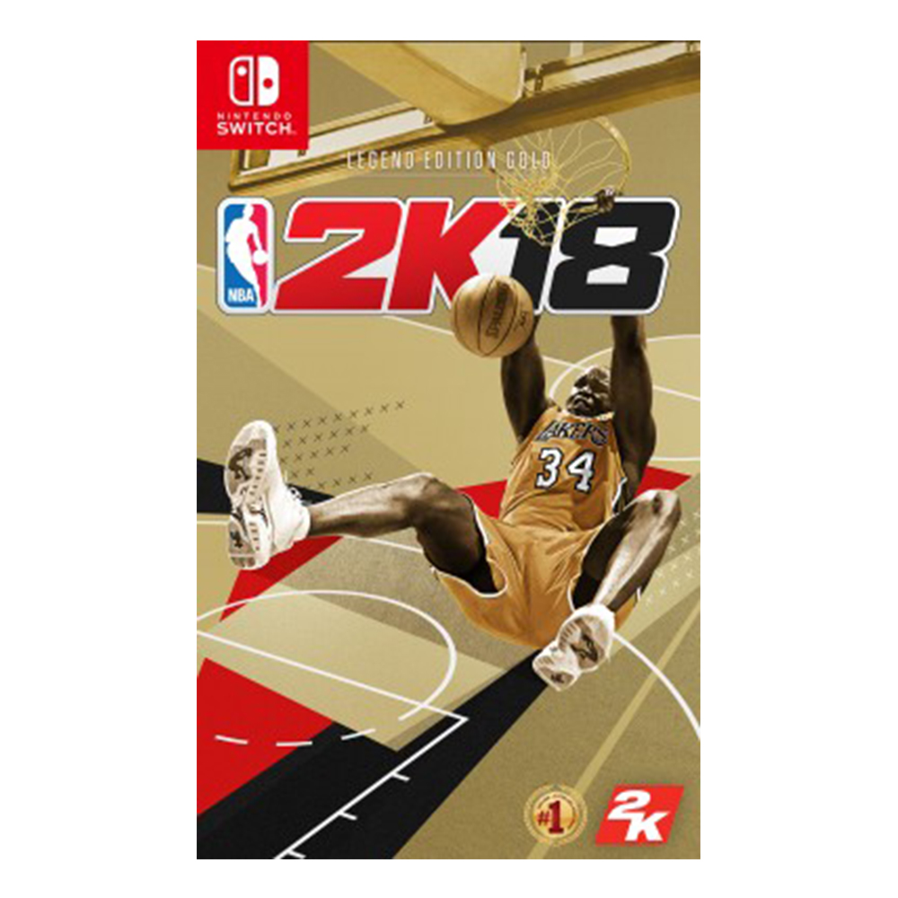 Nintendo Switch NBA 2K18 黃金傳奇珍藏版_亞中版
