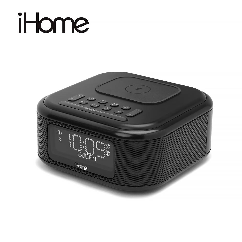 iHome 無線充電藍牙喇叭- iBTW23BE 黑色