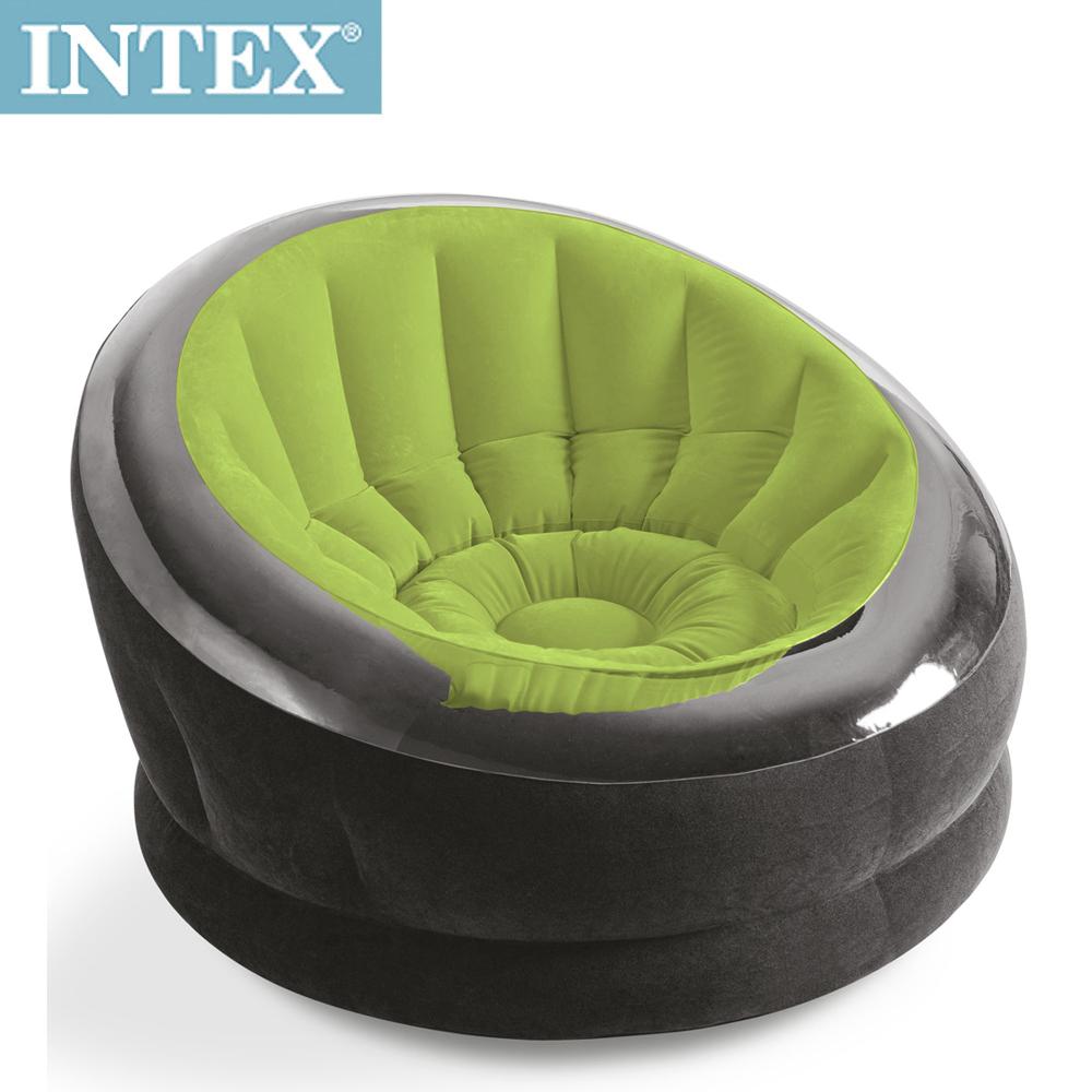 INTEX《星球椅》充氣沙發椅/單人座沙發/懶骨頭-綠色(68582)