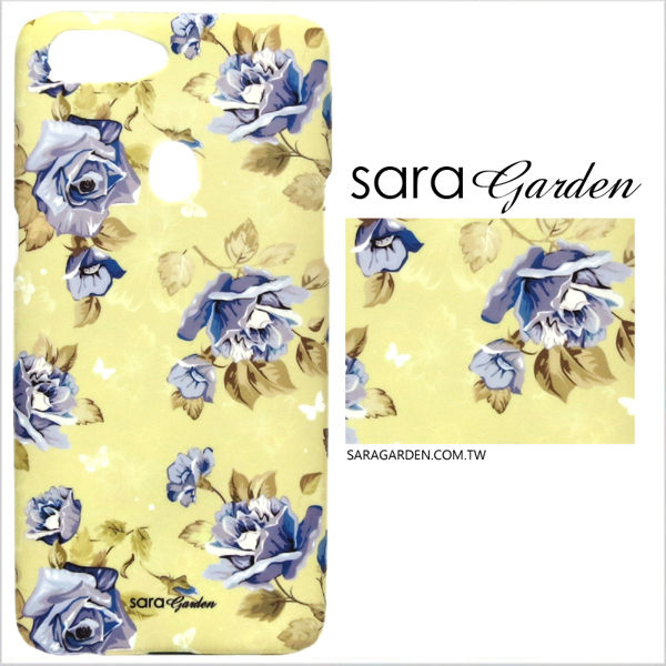 【Sara Garden】客製化 手機殼 Samsung 三星 Galaxy A70 保護殼 硬殼 清新玫瑰碎花
