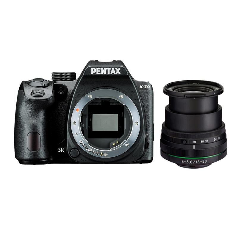 PENTAX K-70 + DAL18-50 DC WR RE防潑水Kit鏡組/黑(公司貨)