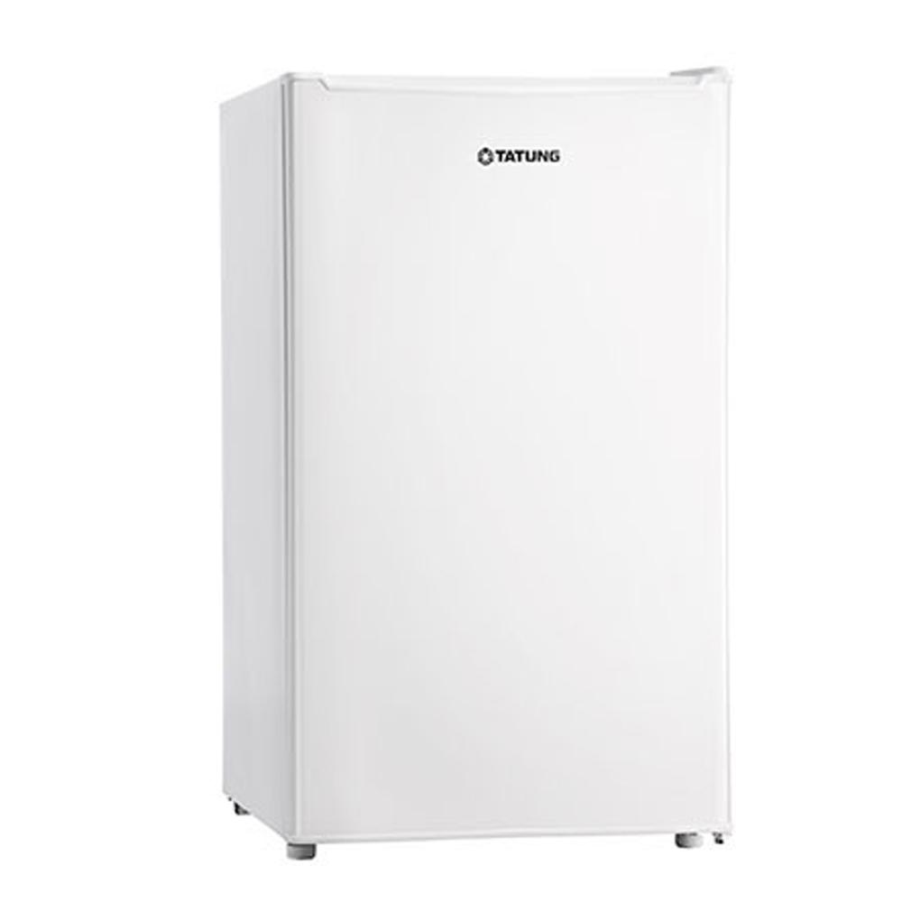 含標準安裝【TATUNG大同】單門冰箱101L-雅緻白 TR-101GTW-W (CP值高於R1072LA R1091W )