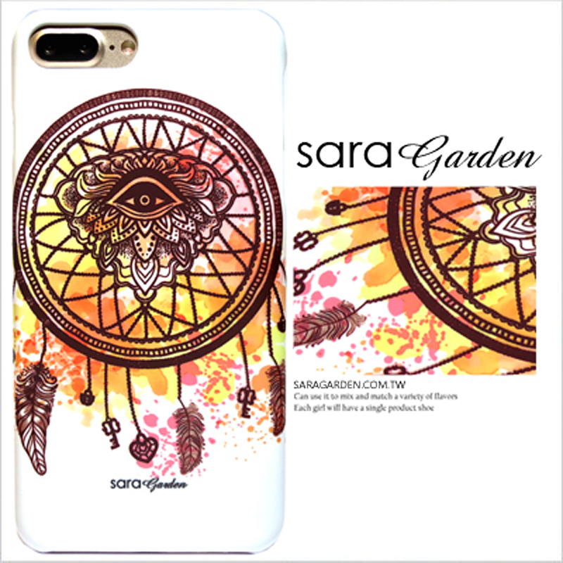 【Sara Garden】客製化 手機殼 SONY XA Ultra 潑墨流蘇捕夢網 保護殼 硬殼